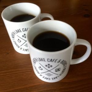 North Lake Cafe Coffee Mug