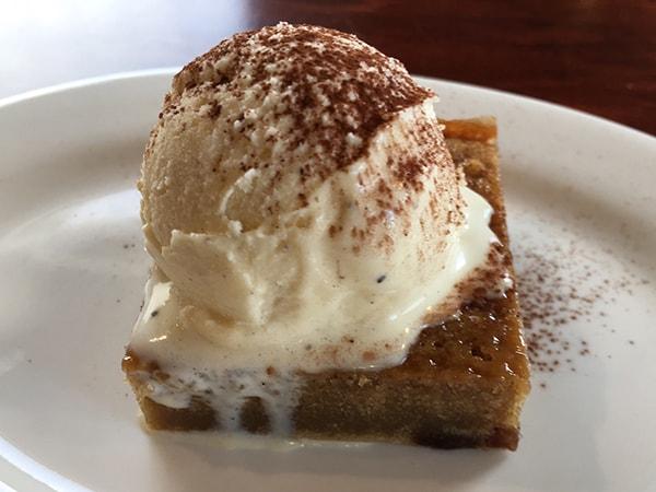 モカケーキ+アイス